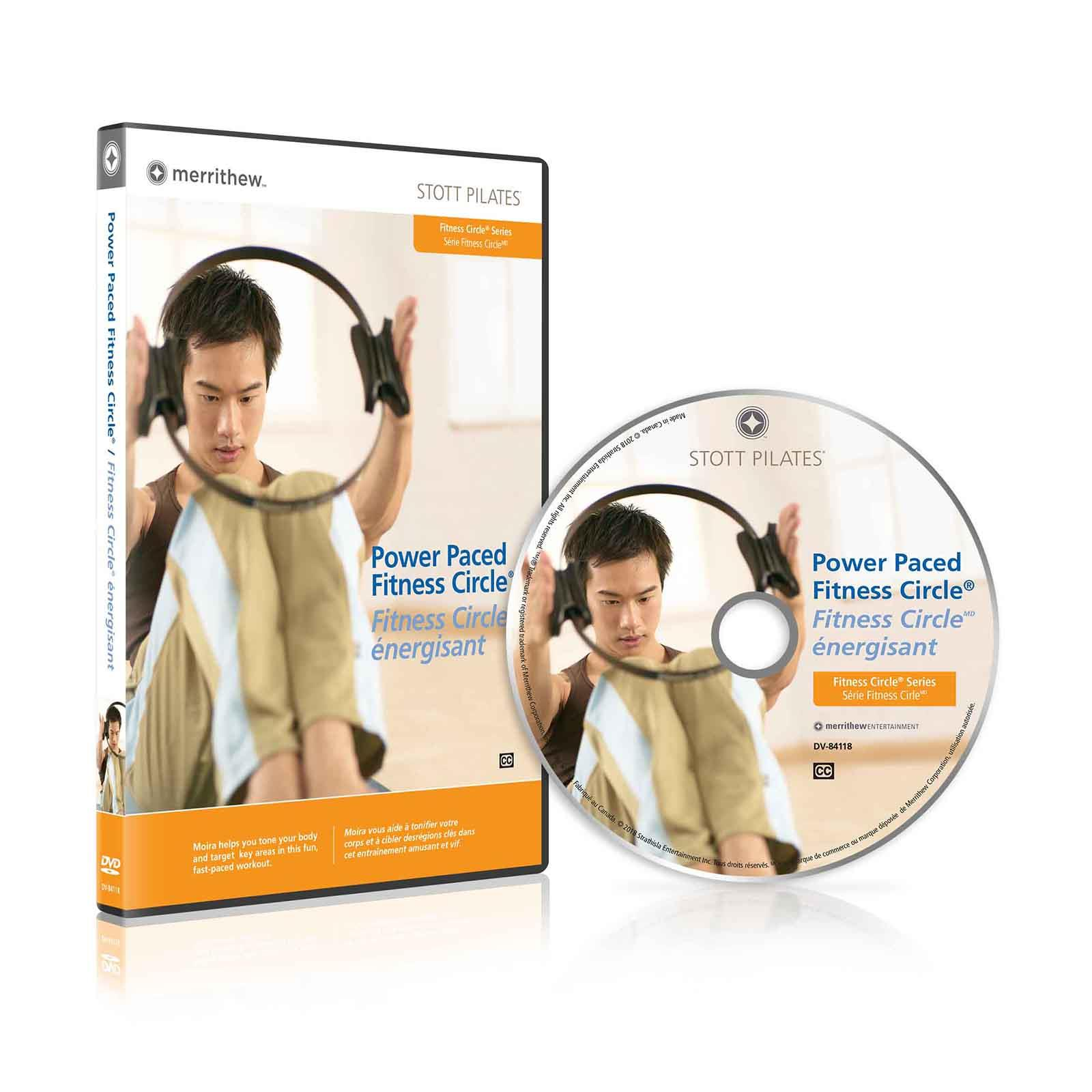 Dvd Power Paced Fitness Circle En Fr