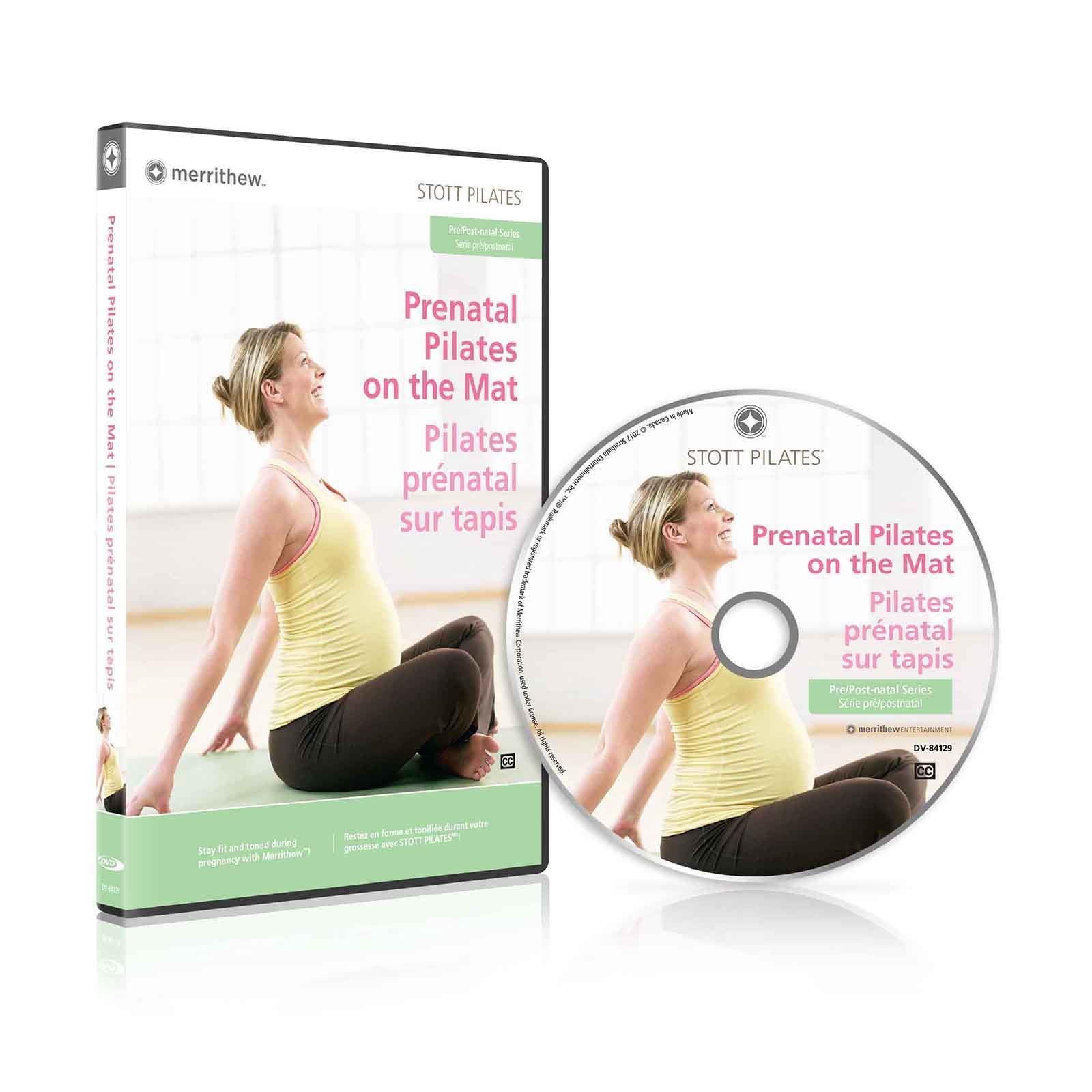 DVD - Prenatal Pilates On The Mat (EN/FR)