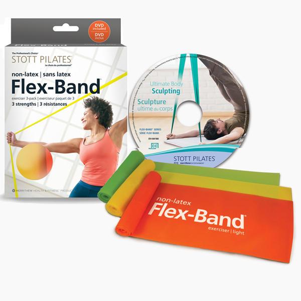 Training Bands Near Me: Non Latex Flex-Band® - 3 Pack With DVD