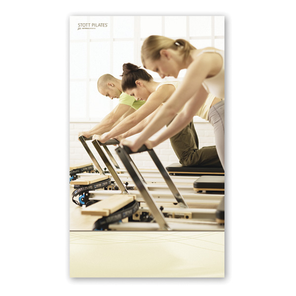 Pilates Mat Exercise Poster: Poster - Group Reformer