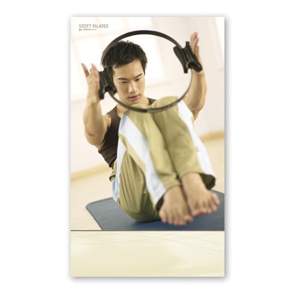 Pilates Mat Exercise Poster: Pilates Poster - Fitness Circle®