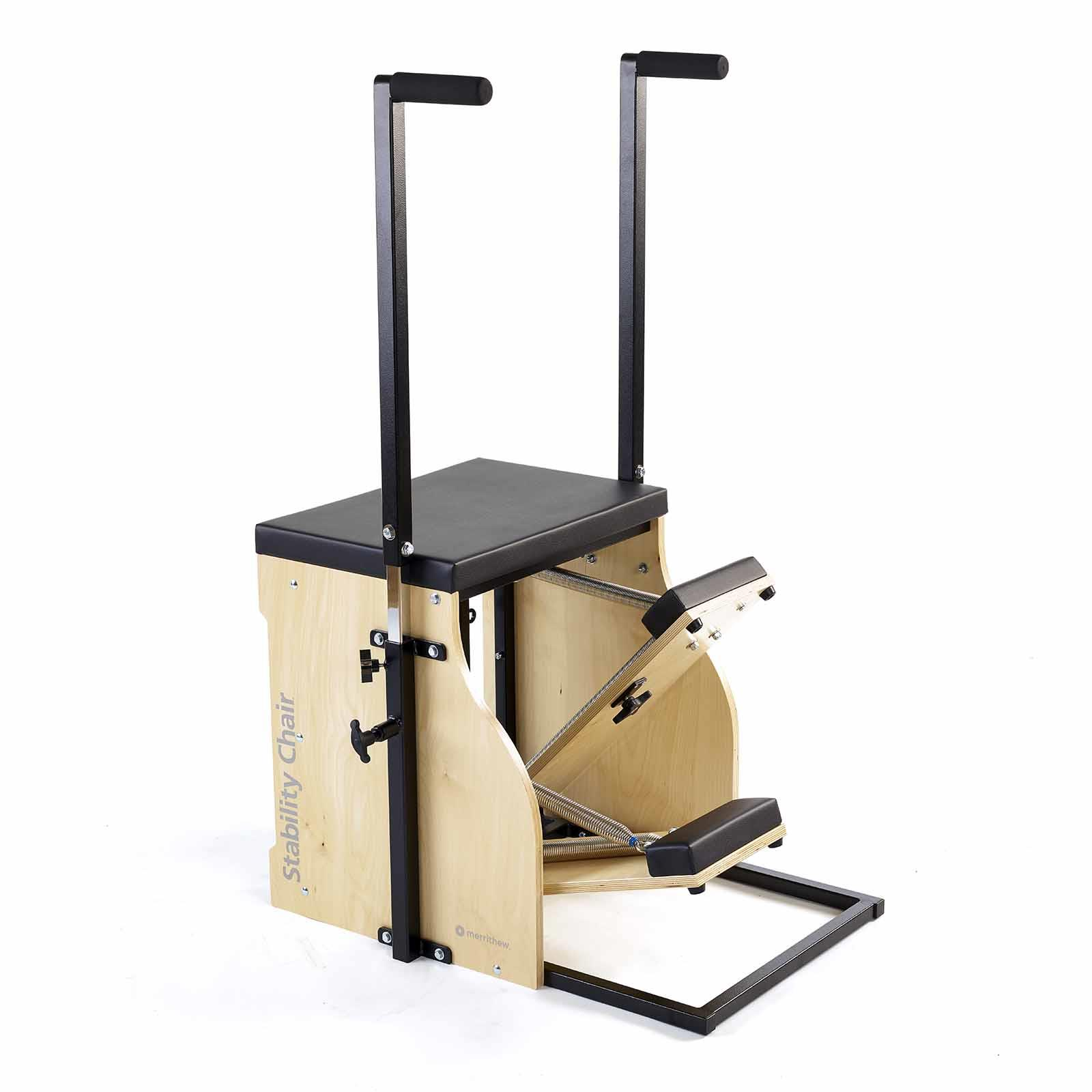 Split-Pedal Stability Chair (with Handles)