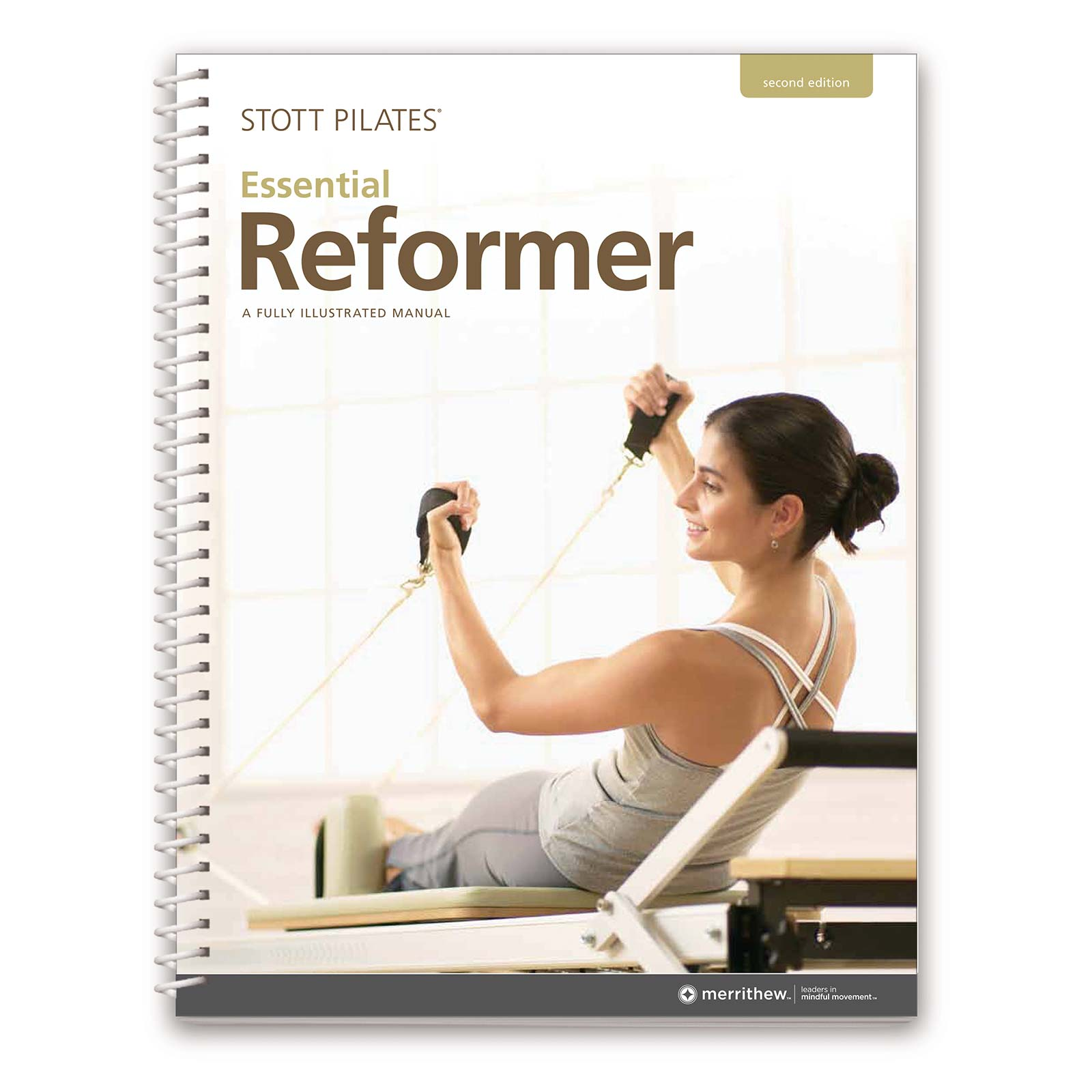 Shop reformer education manuals merrithew manual essential reformer 2nd ed english fandeluxe Images