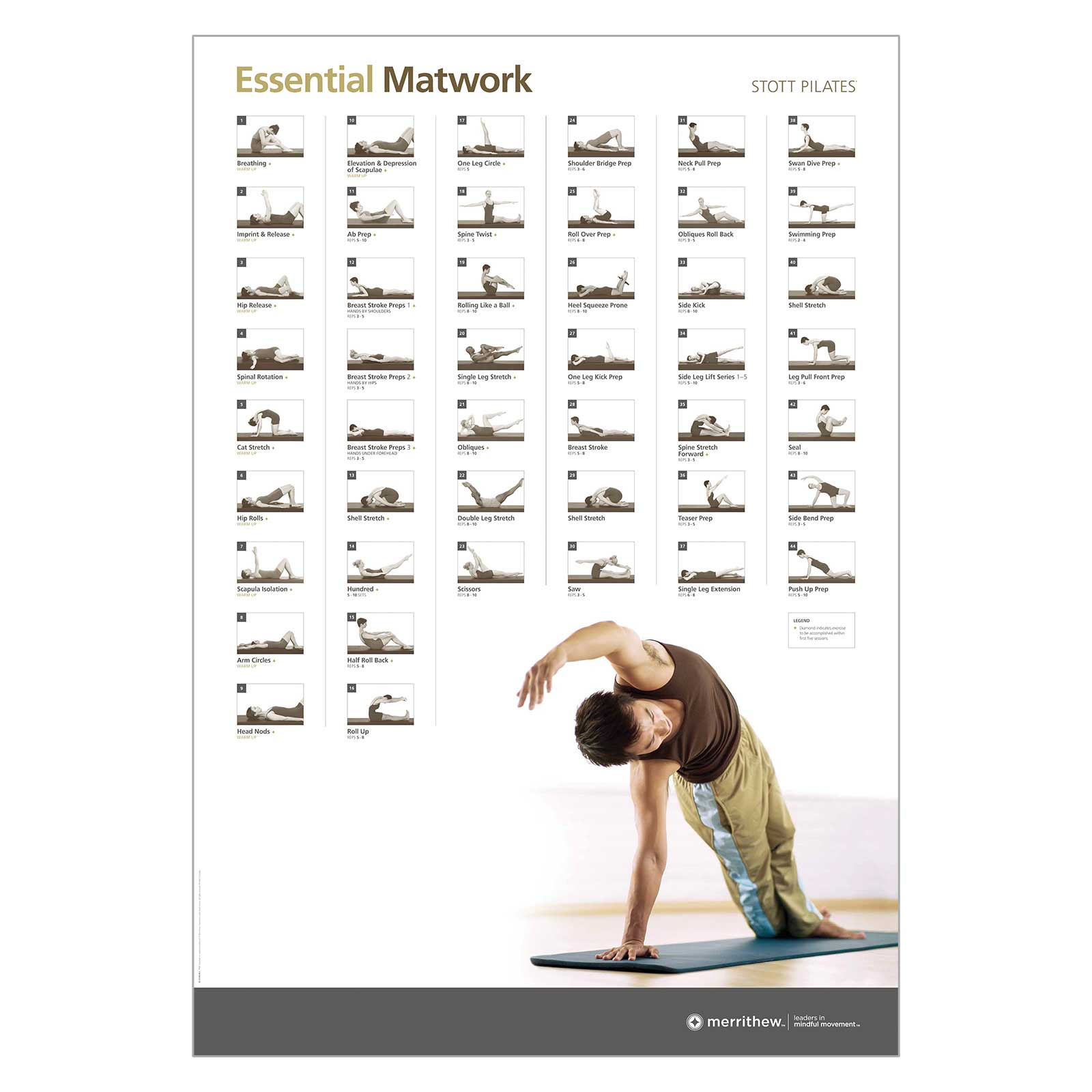Wall Chart - Essential Matwork