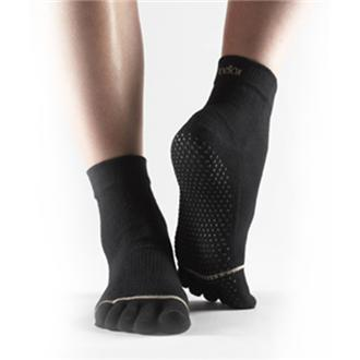 ToeSox - Full Toe w/ Grip, Black, Medium