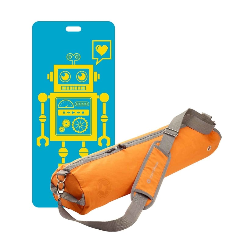 Eco Mat for Kids with Bag · Pixel the Robot