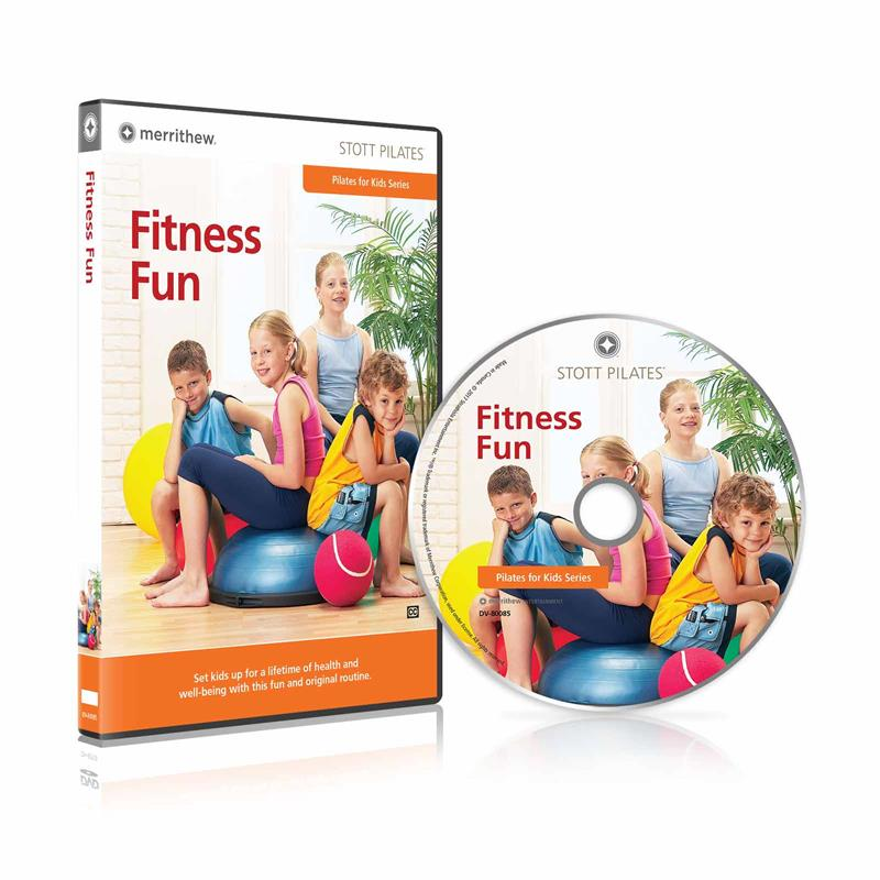 DVD - Fitness Fun: Pilates for Kids