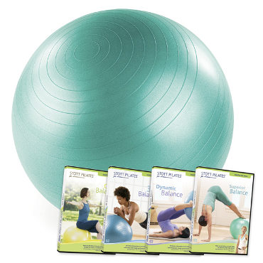 Stability Ball 65cm & 4 Stability Ball DVDs