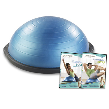 BOSU* Balance Trainer + BOSU Pilates Series: 2 DVDs