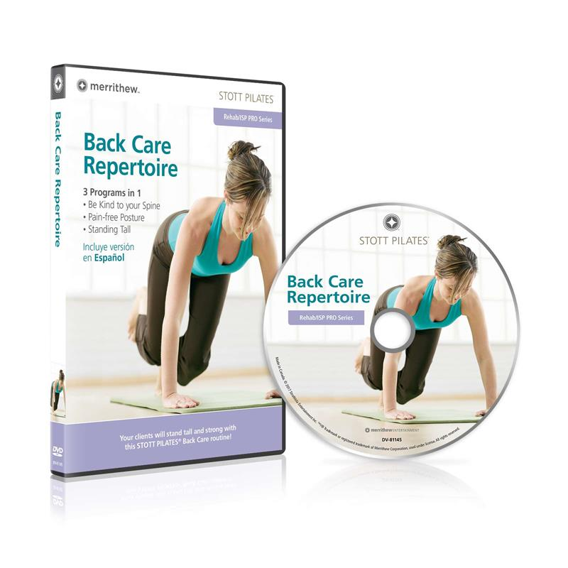 DVD - Back Care Repertoire