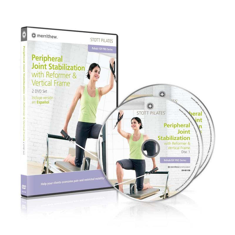 DVD - Peripheral Joint Stabilization on Reformer & Vertical Frame