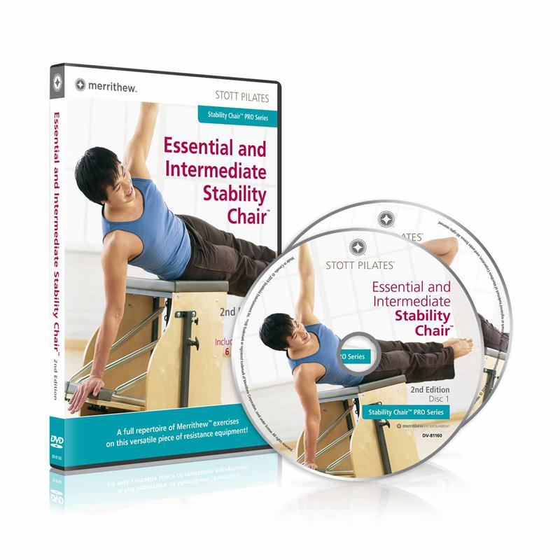 DVD - Essential & Intermediate Stability Chair, 2nd Ed.