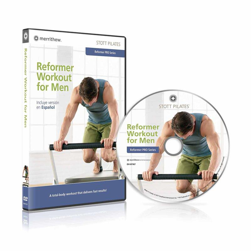DVD - Reformer Workout for Men