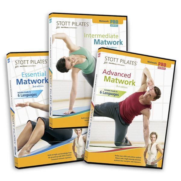 DVD - Pro Matwork Series 3rd Ed.: 3 DVDs