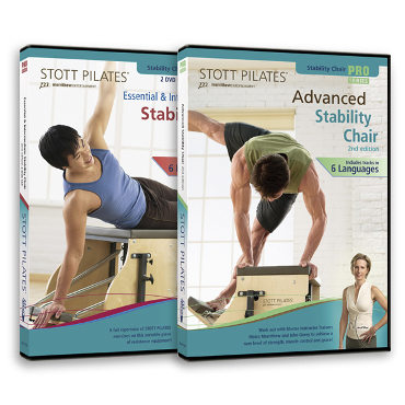DVD - Stability Chair Series 2nd Ed.: 2 DVDs