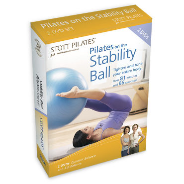 Pilates on the Stability Ball DVD Two-Pack