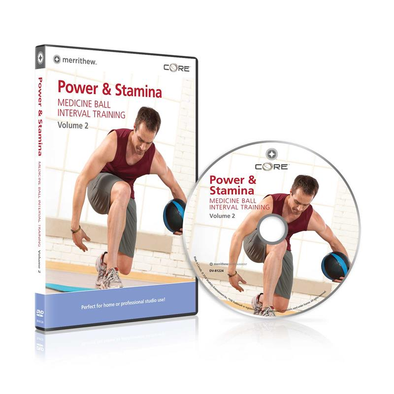 DVD - Power & Stamina:  Medicine Ball Interval Training Vol2