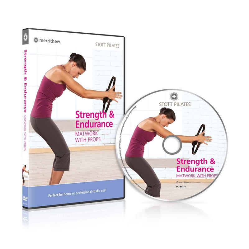 DVD - Strength & Endurance, Matwork with Props