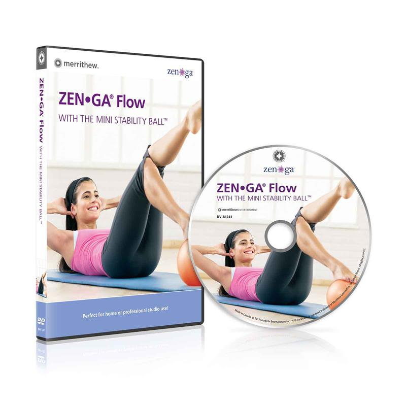 DVD - ZENGA FLOW with the Mini Stability Ball