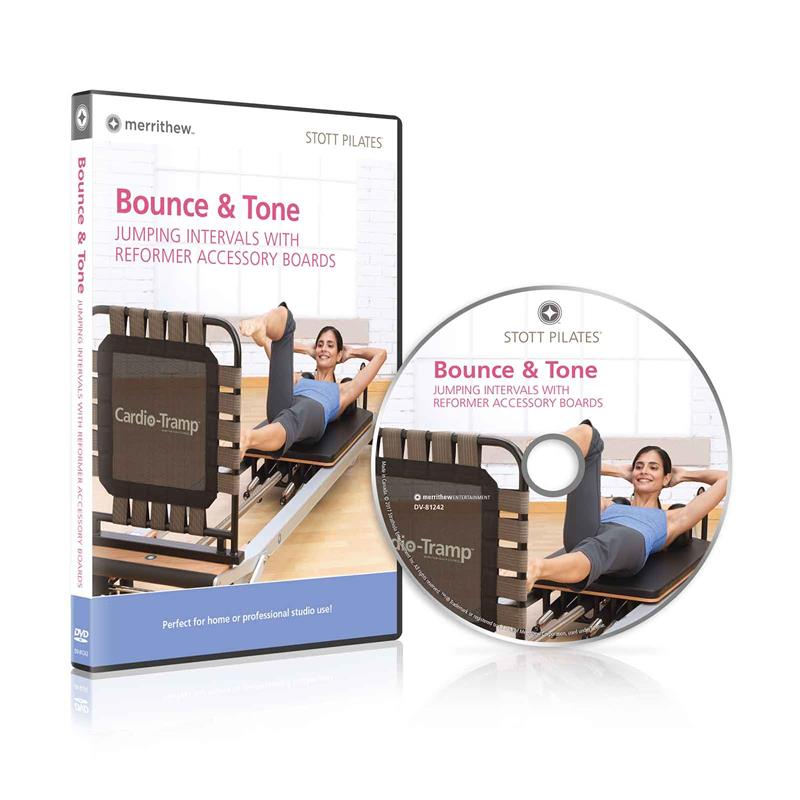 DVD - Bounce & Tone, Jumping Intervals with Reformer Boards