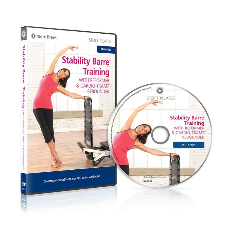 DVD - Stability Barre Training with Reformer & Cardio-Tramp