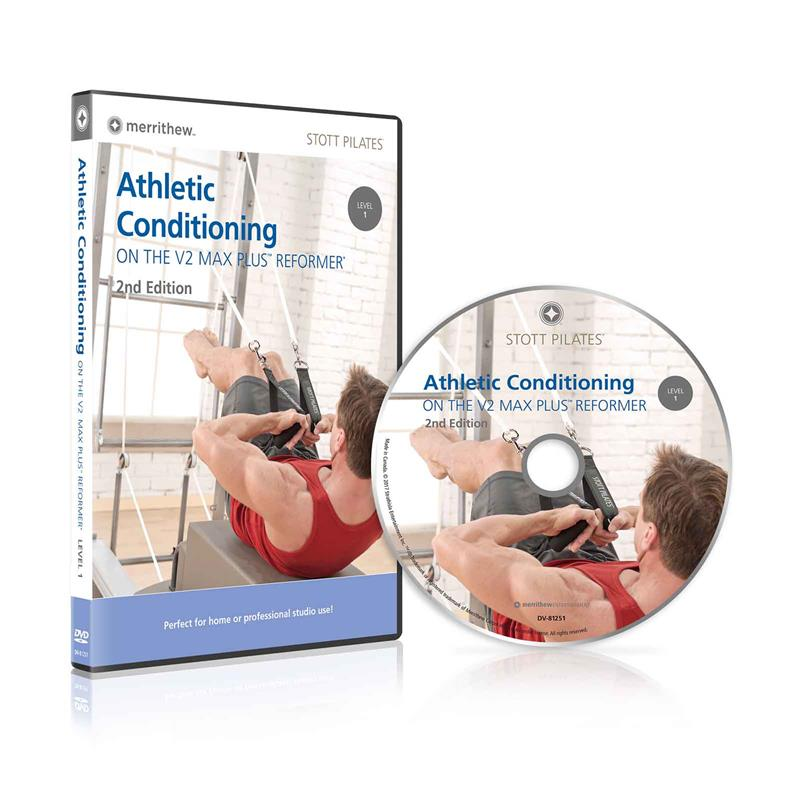 DVD - Athletic Conditioning on V2 Max Plus™ Reformer, Level 1, 2nd Ed.