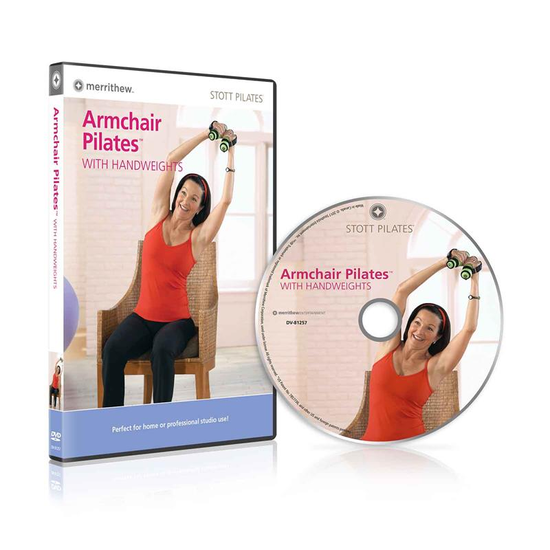 Armchair Pilates with Handweights