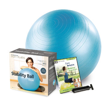 Stability Ball Power Pack 55cm (blue)
