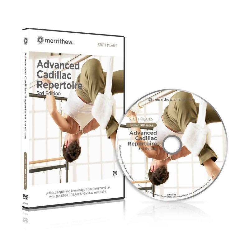 STOTT PILATES® · Advanced Cadillac Repertoire, 3rd Ed.