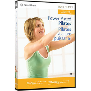 DVD - Power Paced Pilates (EN/FR)