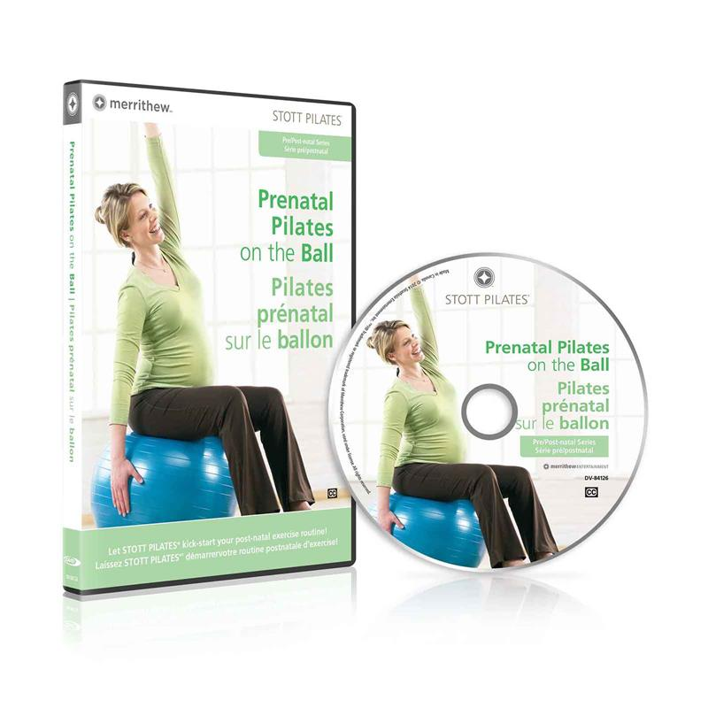 DVD - Prenatal Pilates on the Ball (EN/FR)