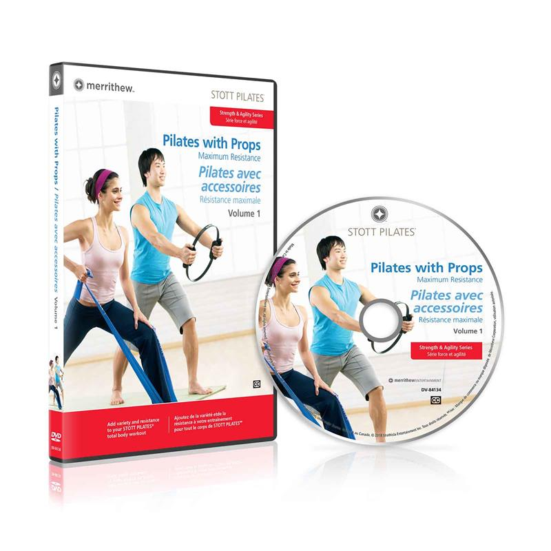 DVD - Pilates with Props, Maximum Resistance, Vol. 1 (EN/FR)