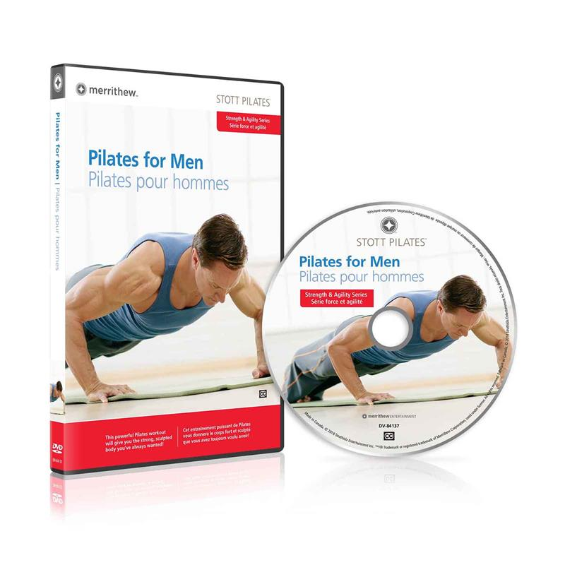 DVD - Pilates for Men (EN/FR)