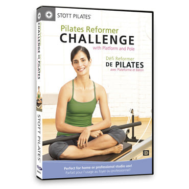 DVD - Pilates Reformer Challenge with Platform & Pole