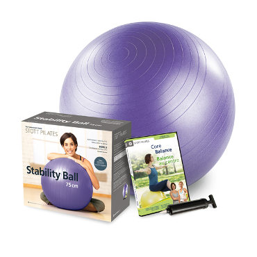 GP-Stability Ball Power Pack 75cm (purple)