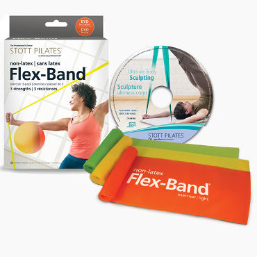 Flex-Band Non-Latex Three-Pack with DVD(EN/FR)