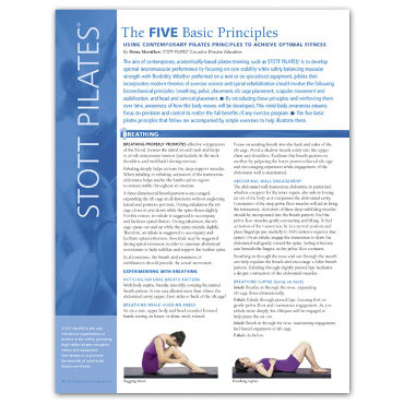 Article - Five Basic Principles (100/pkg)