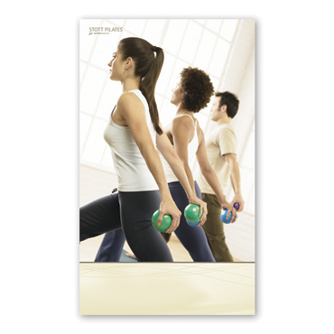 Pilates Poster - Toning Ball™