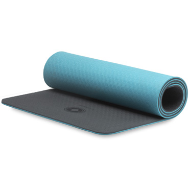 Eco-Deluxe Pilates Mat (teal/black)