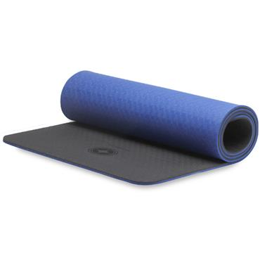 Eco-Deluxe Pilates Mat with Strap (Blue)