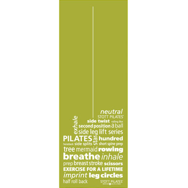 Pilates & Yoga Mat Inspiration (apple green)