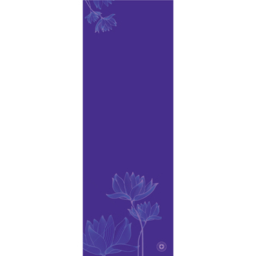 Pilates & Yoga Mat Lotus Harmony (purple)