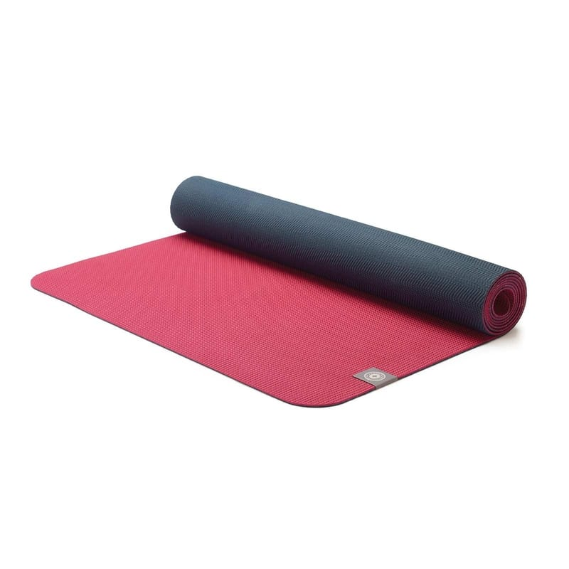Eco Yoga Mat - Maroon & Charcoal