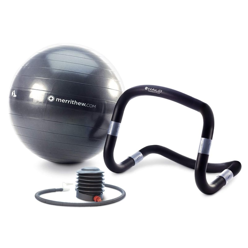 Halo Trainer with Stability Ball & Pump