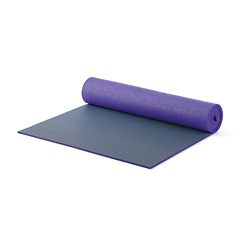 Pilates & Yoga Mat XL (purple/gray)