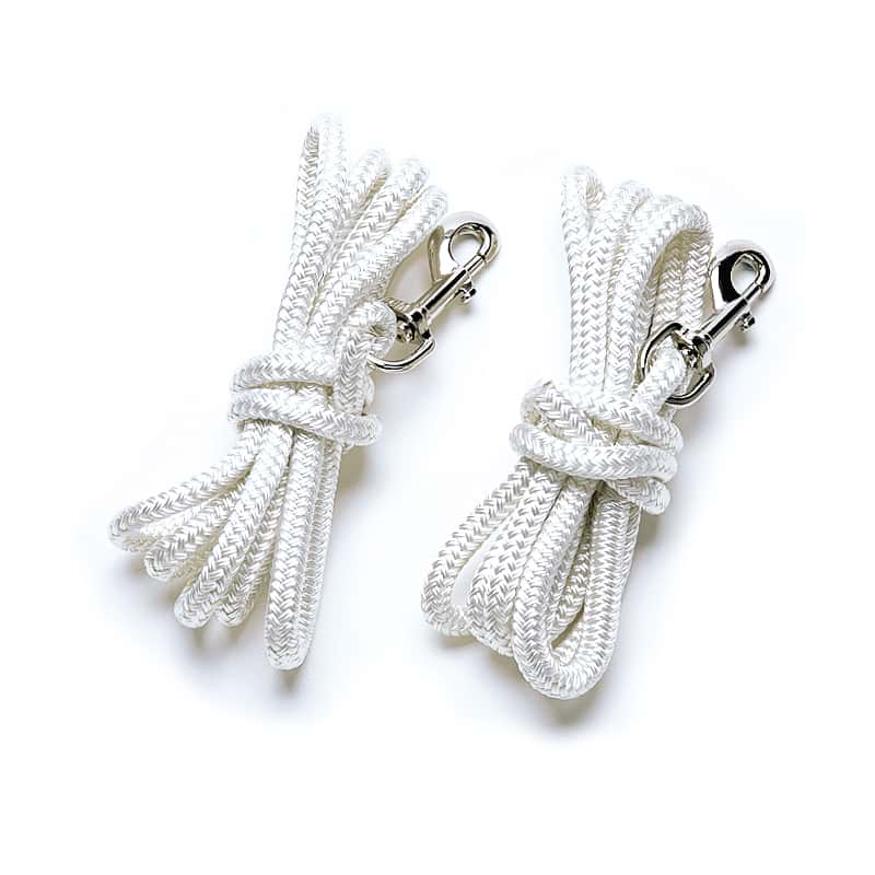 Reformer Ropes (pair, traditional, white)