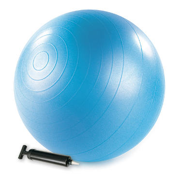 Stability Ball™ with pump -  55cm (blue)