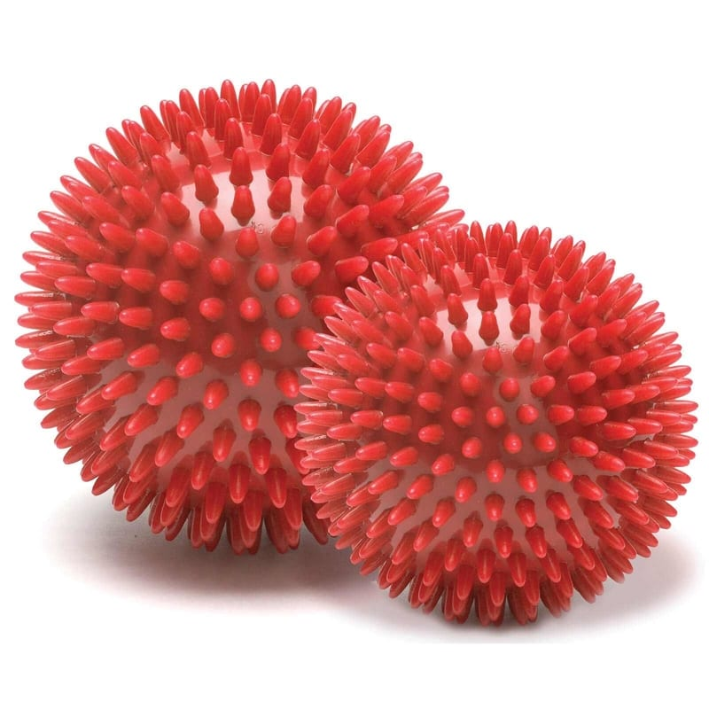 Large & Small Massage Ball – 2 Pack (Red)