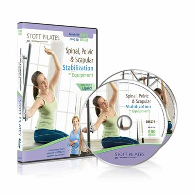 DVD - Spinal, Pelvic & Scapular Stabilization on Equipment