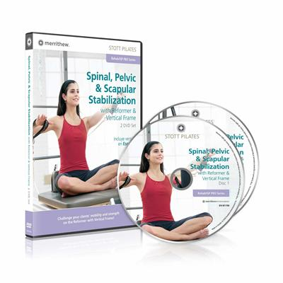 DVD - Spinal, Pelvic & Scapular Stabilization on Reformer